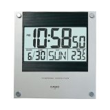 Casio ID-11S-1D Digital Auto Calendar Thermo Monitor Wall and Desk Clock