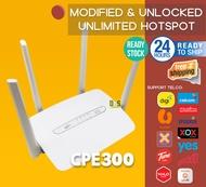100% NEW HUAWEI MODEM CPE C300 UNLOCKED UNLIMITED WITH ANTENNA 4G LTE (UNLOCK TO ALL SIM -NEW) Modem Wireless Router B315 B315-607 B310-852 B310 B593 B593S CP300 RS980 LT210