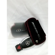 【雞仔機油】Mercedes - Benz amg 鑰匙皮套 (AMG 紅線款 )
