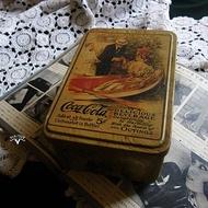 【老時光 OLD-TIME】早期可口可樂收納鐵盒