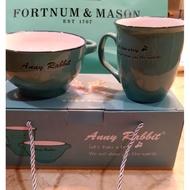 TIFFANY綠 安妮兔杯碗組全新 瓷器