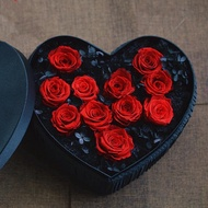 免運 永生花 永生花禮盒玫瑰花保鮮花禮盒聖誕節情人節送朋友生日求婚禮物  中秋節禮物
