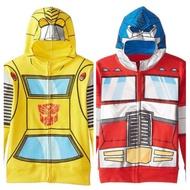 預購 90~150cm 變形金剛外套 科博文外套 大黃蜂外套 男童連帽外套 變形金剛 男童外套 男童造型外套 卡通外套
