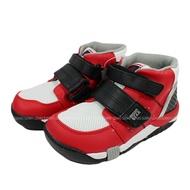 (BX) Moonstar 日本品牌 機能 抗菌 除臭 矯正鞋 中高筒 運動鞋 魔鬼氈 童鞋   CRC21402 紅【陽光樂活】