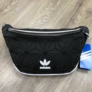 Adidas Originals 3D Mini Airline (ISSEY MIYAKE Style Shoulder Bag) ดำ