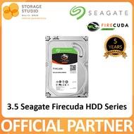 Seagate Firecuda HDD 3.5 Barracuda HDD 2TB / 1TB. Local SEAGATE Warranty: 5 years.