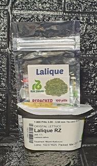 Lettuce Lalique RZ Pelleted Seeds by Rijk Zwaan  | Repacked 100pcs | Original Package 1000pcs