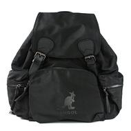 【6955320120】KANGOL 英國袋鼠 後背包 背包 大容量 多袋 尼龍 黑色
