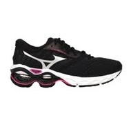 (女) MIZUNO WAVE CREATION 21 慢跑鞋- 路跑 運動 美津濃 黑銀桃紅