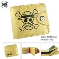 動漫海賊王包路飛草帽標志錢包 新品喬巴羅路飛皮短款錢包