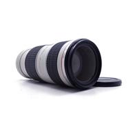 【台南橙市3C】Canon EF 70-200mm f4 L IS USM UZ鏡 小小白 二手鏡頭 # 51879