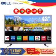 (appliance home on sale smart tv) GELL 43 inch sale Smart TV flat on sale screen tv FHD Android TV Built-in YouTube /Netflix Multiport led tv