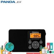 收音機 熊貓 6105 收音機 二波段 FM/AM 自動搜索 定時開關機 袖珍型新品 小宅女