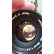 台北 收藏 二手 鏡頭 Canon fd ssc f1.4 50mm