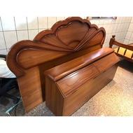二手床頭櫃+床頭板 自取