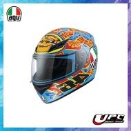 UPC 騎士精品♔ 義大利 AGV K3 ROSSI MUGELL 快拆鏡片 內襯可拆 全罩 安全帽
