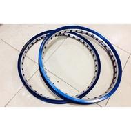 TAKASAGO EXCEL ASIA rim SET 1.2/1.4x17 2tone blue