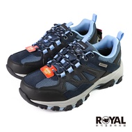 〈💗全館再打95折💗〉Skechers West Highland 藍色 網布 防水 寬楦 運動休閒鞋 女款 NO.J0616【新竹皇家 167003WNVGY】