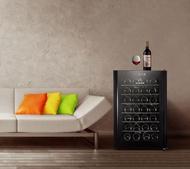 紅酒櫃紅酒櫃恒溫酒櫃家用小型雙晶片電子紅酒櫃冰吧