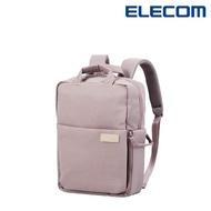 【ELECOM】迷你帆布多功能3WAY薄型後背包OF05 - 紫(迷霧限定色)