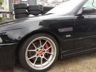 BBS RK 18吋輕量化鍛造鋁圈BMW E39 E34 E32 E38適用