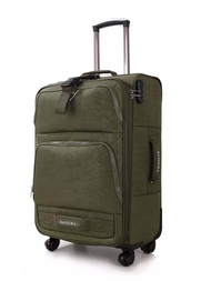 KLQDZMS 20''24''28Inch Multifunctional Spinner Rollingกระเป๋าเดินทางOxfordกระเป๋าเดินทางบนล้อ