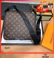 กระเป๋าcoach/กระเป๋ากุชชี่/กระเป๋าlouis/กระเป๋าแบรน/ กระเป๋าแฟชั่นLVv 10นิ้วโดยประมาณ อุปกรณ์ที่ได้ ถุงผ้า การ์ด
