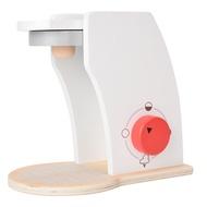เครื่องชงกาแฟของเล่นเด็กบ้านของเล่นของเล่นไม้จำลองของเล่นเครื่องครัวทำอาหาร