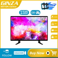 (Free bracket)GINZA 24 inch LED TV flat screen on sale Not smart tv 24 inches sale salg Tablet PC tv flat screen on sale ace 24(Screen size is 20 inch)