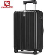 HANKE 24 นิ้วกระเป๋าเดินทางท่องเที่ยวกันน้ำวงล้อหมุนกระเป๋าลาก PC + ABS TSA H9976