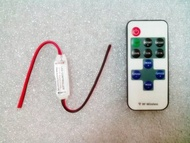 【鉅珀 】LED控制器(附遙控器)無線遙控 控制器 閃爍器 6V~24V可調式 單色 燈條控制器 爆閃 呼吸燈