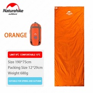 Naturehike ใหม่มาถึงซองจดหมายกลางแจ้งถุงนอนแคมป์นอนถุง LW180/NH15S003-D - นานาชาติ
