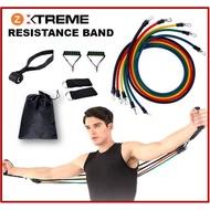 โปรโมชั่น Zanlaza ยางยืดออกกำลังกาย แรงต้าน5ระดับ Extreme Set Resistance Band ยางยืดหูจับ สายแรงต้าน ลดไขมัน สร้างกล้ามเนื้อ ราคาถูก ยางยืดออกกำลังกาย ยางยืดออกกําลังกาย ราคา ยางยืดออกกําลังกายขา