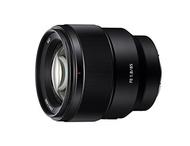 Sony Sony SEL85F18 85mm F/1.8-22 Medium-Telephoto Fixed Prime Camera Lens, Black