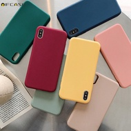 Samsung Galaxy A50 A50S A30S A30 A20 Phone Case Candy Colorful Plain Matte Simple Soft Silicone TPU Case Cover