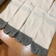 (日本製)純棉兩指襪