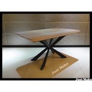 Just Make 訂製家具 胡桃餐桌 桌子 餐桌 會議桌 書桌 工作桌 桌子 辦公桌 實木餐桌 胡桃木貼皮餐桌