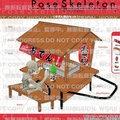 11-12月預訂 Re-ment 盒玩 Pose Skeleton骷顱人系列--關東煮台車組 (預定特價)
