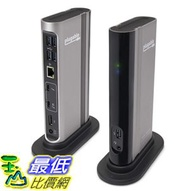 [8美國直購] 適配器 Plugable Thunderbolt 3 Dock with Charging Compatible with MacBook Pro 2018/2017/Late 2016