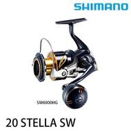 漁拓釣具 SHIMANO 20 STELLA SW 6000PG (紡車捲線器) (送1000元折價券)