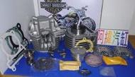 ~阿緯汽缸~勁戰 BWS GTR125 RS100(4V)改58.5MM汽缸組+缸頭(19 21)+凸輪+搖臂大全組