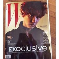 W Korea Exoclusive  燦烈 封面 Exo 雜誌