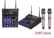 YAMAHA G4 POWER MIXER  WITH NICE QUALITY WIRELESS  MICROPHONE  4 Channels USB bluetooth Studio Audio Mixer Stage Live
