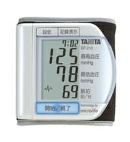能檢測數碼的百利達TANITA手腕式血壓計脉的胡亂BP-210-PR珍珠白 Tokiwa camera