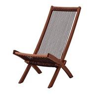 BROMMÖ 戶外躺椅, 棕色