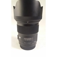 Sigma 50mm F1.4 DG HSM Art  for Canon 公[CL100]