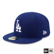 【NEW ERA】59FIFTY 5950 MLB 球員帽 道奇 客場 棒球帽(皇家藍)