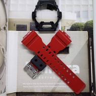Genuine Casio G Shock Glossy Red Straps ang Black Bezel for GR8900 GR8900A GWX8900B