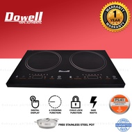 Dowell Double Burner Cooktop Induction Cooker IC-51TC