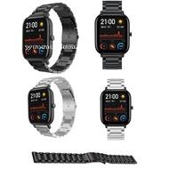 華米Amazfit GTS金屬錶帶 Amazfit BIP智能手錶表帶 不銹鋼錶帶 GTS錶帶 米動金屬錶帶 不鏽鋼